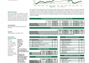 Manulife Investment ML Shariah Flexi Fund Report August 2019
